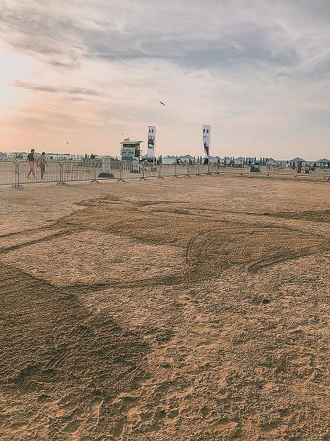 National Day Sand Art